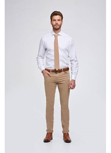 Hemington Camel Slim Fit 5 Cep Pantolon Camel